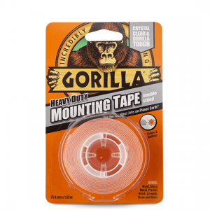 Gorilla Mounting Tape – Crystal Clear - 1.52m