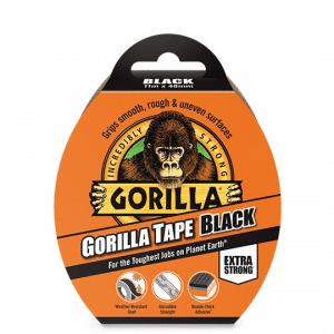Gorilla Tape - Black - 11m