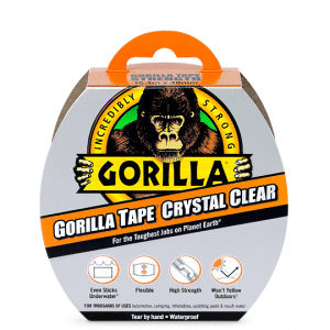 Gorilla Tape – Crystal Clear - 16m
