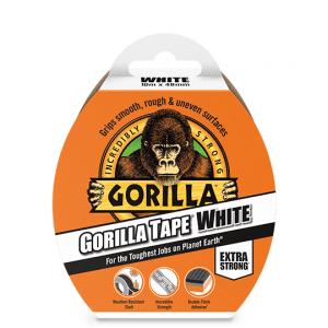 Gorilla Tape - White - 10m