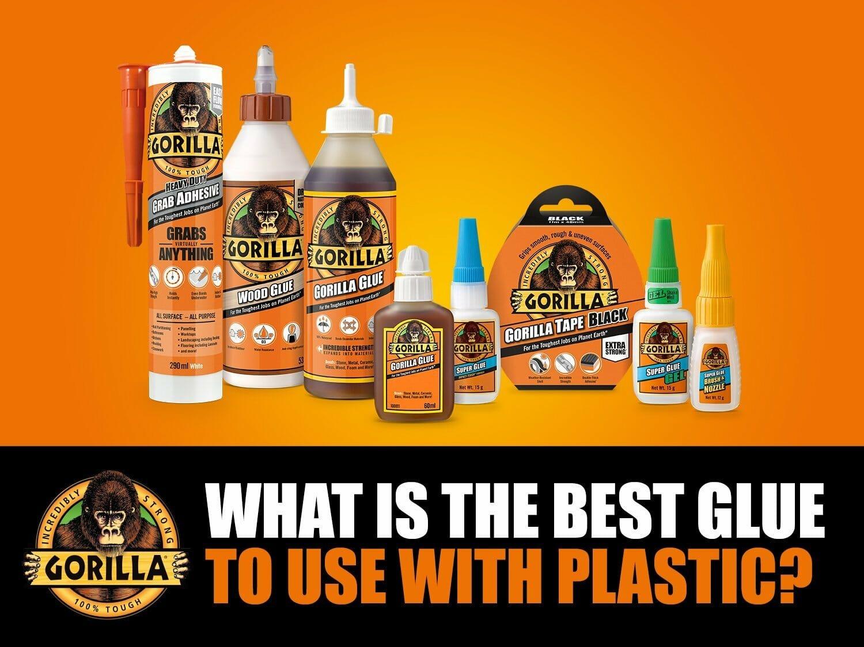 Best Glue For Plastic from Gorilla Glue