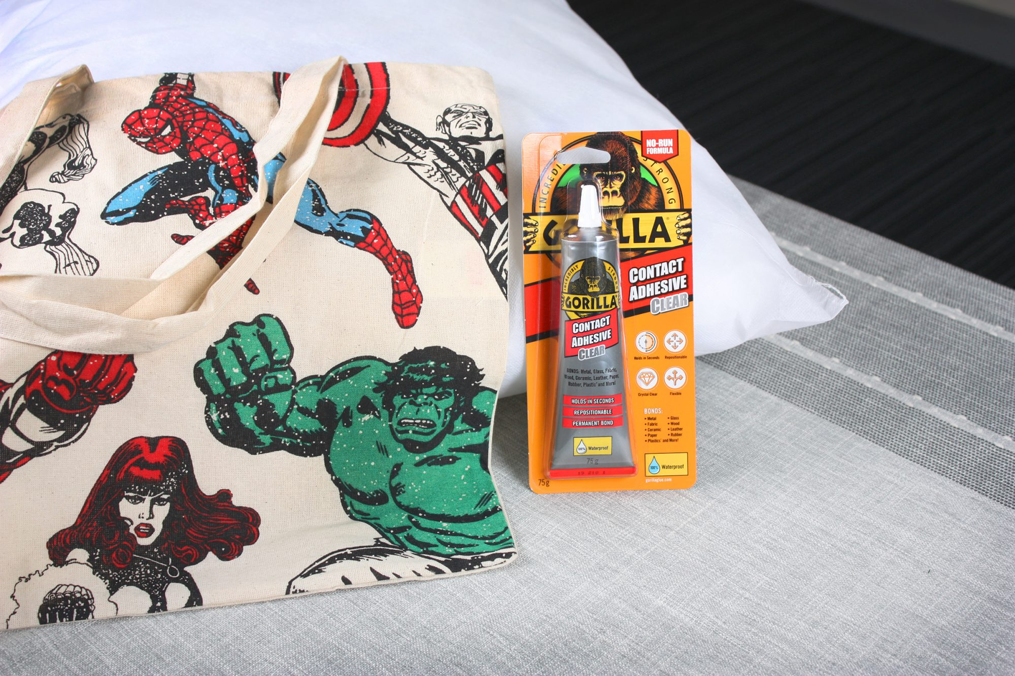 Gorilla No Sew Cushion Hack